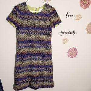 Kate Spade   Tweed Knitted Wool Dress